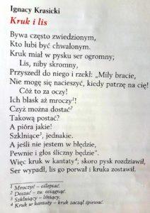 lekcje polskiego14 2 212x300 - Bajki w ujęciu literackim. Klasa 5. Bajki Ignacego Krasickiego FILM