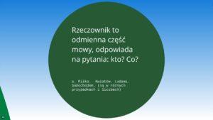 lekcje polskiego3 2 300x169 - Powtórka z gramatyki języka polskiego w klasie 5 szkoły podstawowej FILM