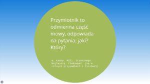 lekcje polskiego4 2 300x169 - Powtórka z gramatyki języka polskiego w klasie 5 szkoły podstawowej FILM